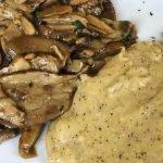 Polenta Taragna e funghi della Valle Brembana